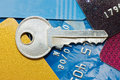 Free Credit Card And Keys - Security Concept Stock Images - 15526904