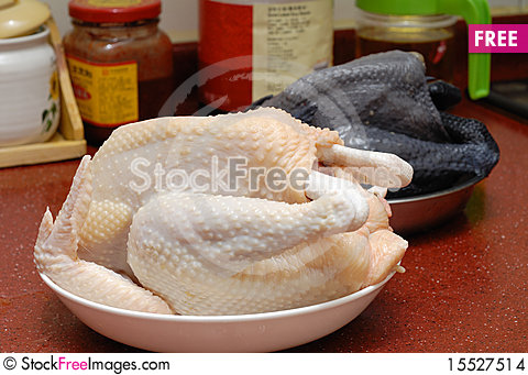 Free Uncooked Chicken Stock Images - 15527514