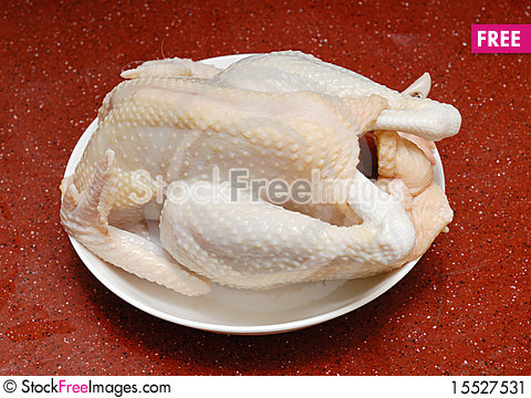Free Uncooked Chicken Stock Image - 15527531