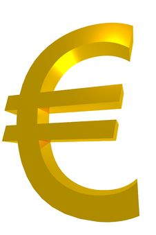 Free Euro Symbol Royalty Free Stock Image - 15520036