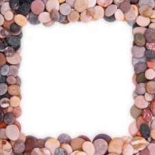Free Sea Stones Frame Stock Photos - 15520893