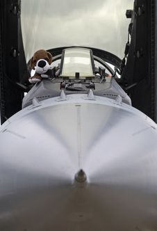 Free Combat Aircraft Cockpit Stock Image - 15521501