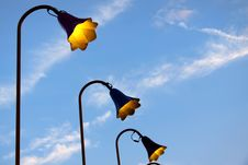 Free Old Fashioned Lamp Posts Stock Image - 15521781