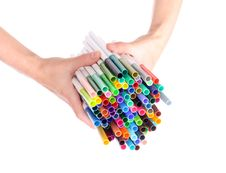 Free Markers Stock Photography - 15525292