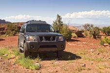 Desert Trail Royalty Free Stock Photo
