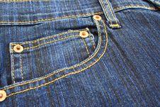 Free Jeans Pocket Royalty Free Stock Photo - 15526445