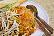 Thai Noodle Style Royalty Free Stock Photos