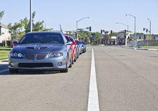 Free Pontiac GTOs Royalty Free Stock Photo - 15526915