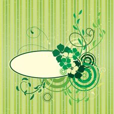 Free Floral Abstract Banner Royalty Free Stock Image - 15528046