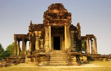 Free Temple Building At Angkor Wat. Stock Image - 15529441