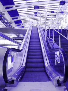 Free Subway Stairs Royalty Free Stock Images - 15529469