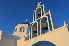 Free Santorini Church Stock Images - 15529774