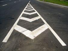 Road Marking Stock Photos