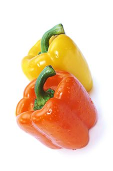 Free Two Pepper Royalty Free Stock Images - 15531529