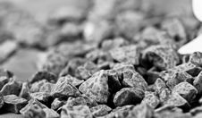 Relaxing Stones In Grey Royalty Free Stock Photo