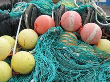Free Fishing Nets Royalty Free Stock Photography - 15532007