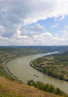Rhine Royalty Free Stock Photography