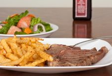 Free Steak And Fries Stock Images - 15532754