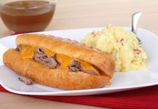 French Dip Royalty Free Stock Photos