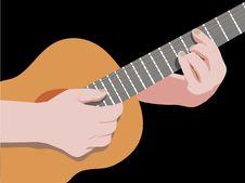 Free Playing Guitar Stock Photos - 15533253