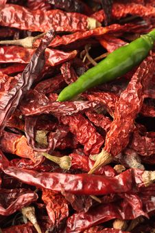 Free Red And Green Chillies Stock Photo - 15533860