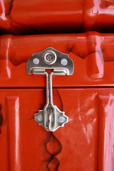 Old Fashioned Trunk Box Royalty Free Stock Image