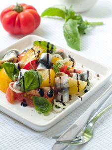 Free Tomatoes Salad Royalty Free Stock Image - 15534616