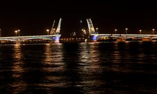 Free Annunciation Bridge With Illumination. Royalty Free Stock Photography - 15535087