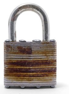 Free Old Metal Padlock Stock Photography - 15535112