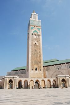 Highest Minaret In The World Royalty Free Stock Photography