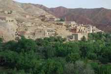 Berber Village Royalty Free Stock Photography