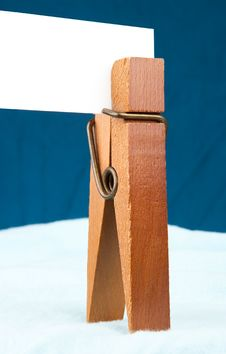 Free Clothespin Card Stock Images - 15535644