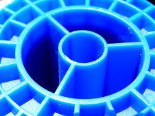 Free Blue Spool Royalty Free Stock Image - 15535736