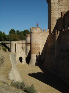 Free Mota Castle In Medina Del Campo Stock Image - 15536871