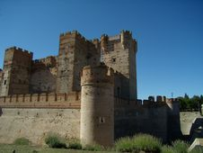 Free Mota Castle In Medina Del Campo Royalty Free Stock Photo - 15536935
