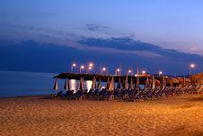 Free Night Beach Stock Photos - 15537853
