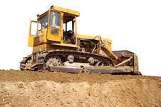 Free Ulldozer Royalty Free Stock Photos - 15538258