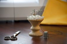 Tools For Sewing Stock Photos