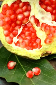 Free Pomegranate, New Year. Royalty Free Stock Images - 15538679