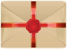 Free Vectorized Vintage Envelope Stock Photos - 15538843