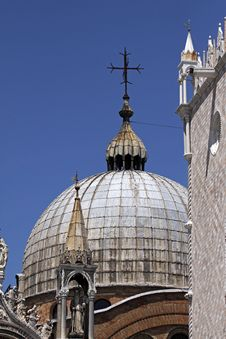 Venice, Basilica San Marco, Italy Royalty Free Stock Images