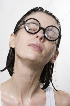 Free Wet Woman Stock Images - 15539404