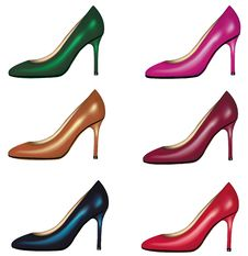 Free Elegant Glossy Shoes. Royalty Free Stock Image - 15539766