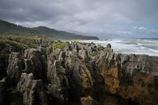Free Punakaiki Pancake Rocks Royalty Free Stock Photo - 15539845