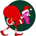 Free Pink Santa Stock Images - 15545774