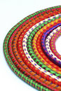 Free Multi-colored  Rock Climbing Ropes In Bundles Royalty Free Stock Photos - 15548218