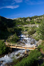 Free Bridge In The Mountains Stock Photos - 15549253