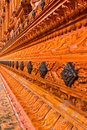 Free Thai Temple Wall Royalty Free Stock Photo - 15549795