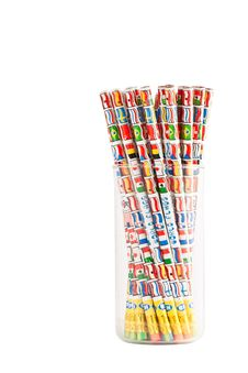 Free Bunch Of Pencils Royalty Free Stock Photography - 15540267