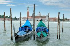 Free Gondolas. Stock Photos - 15540713